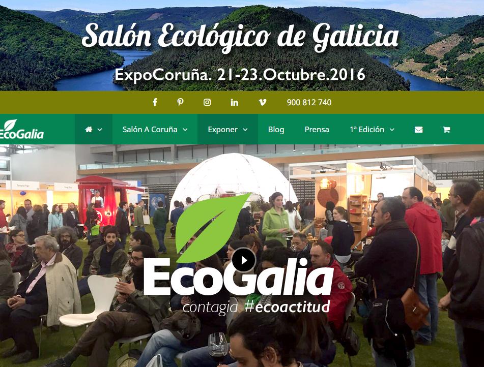 eventos bioconstruir 2016 A Coruña, Ecogalia