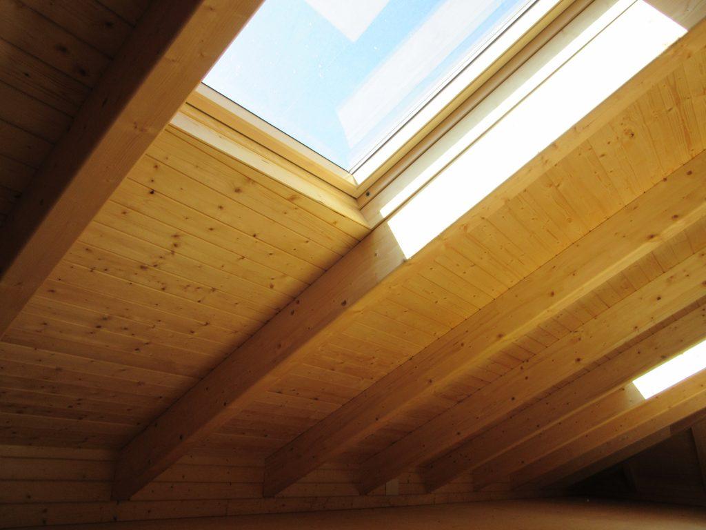 cubierta madera bioconstrucción
