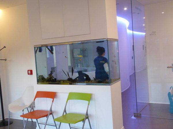 Clínica Alsana sala de espera