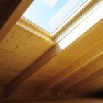 vivienda cubierta madera
