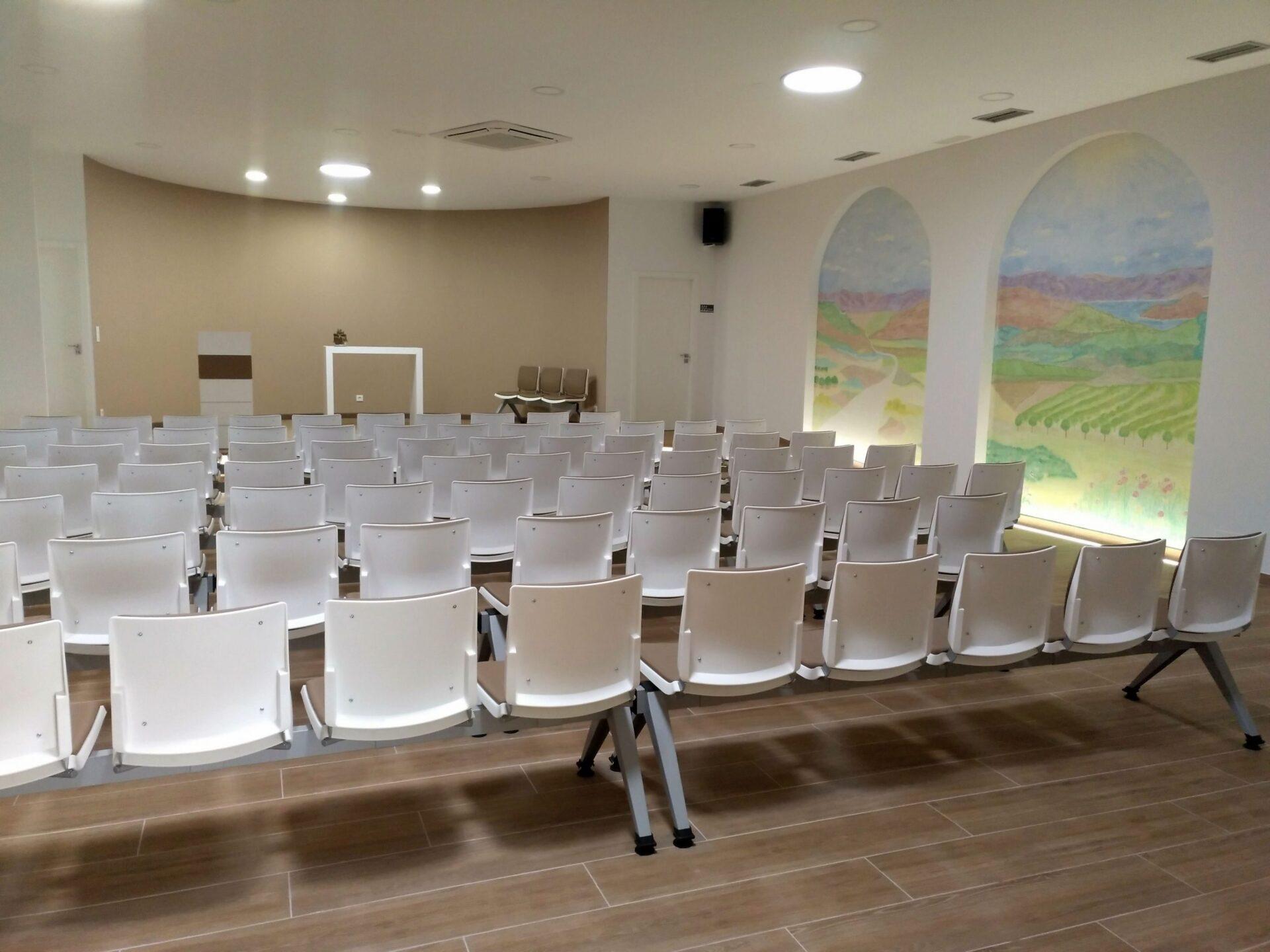 Bioconstruir | Salon De Actos Tanatorio San Martin