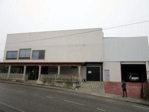 Fachada del antiguo Tanatorio San Martín