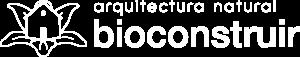 Bioconstruir | Bioconstruir Logomarca Horizontal 1 Tinta Blanca