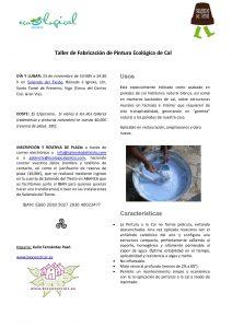 Bioconstruir | Taller De Fabricación Pintura Ecologia De Cal Noviembre 2014