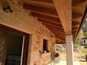 Bioconstruir | Porche Madera Piedra Vigo